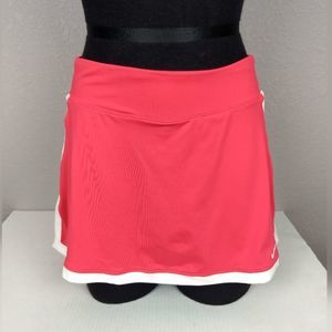 Nike Dri Fit Pink Skort with Whit Stripe Size S